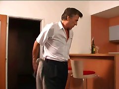 mature man fucks the hotel maid