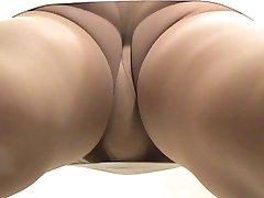crossdresser pantyhose upskirt 086