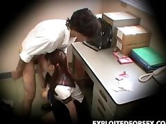 Schoolgirl caught stealing blackmailed 3