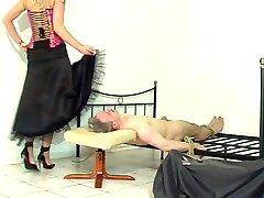 petticoat Kleider sitzen 4