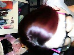 빨강 머리 소녀 얼굴에 안경을 금지 Dorthea 에서 1fuckdatecom