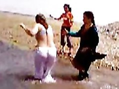 Pakistańskiej Prowincji Sindh Karaczi Ciocia Rzeki Niu Parowa