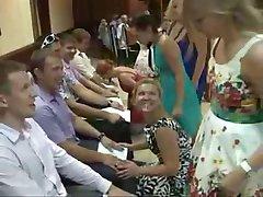 crazy wedding 'blowjob' contest game