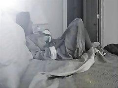 Dobra ideja za smještaj skrivena milf u spavaćoj sobi !!