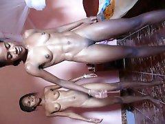 2 schwarze teen nackt sport