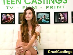 FetishNetwork Alex Mae try bdsm casting