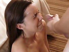 Sabrina ECG Facial Cumshot