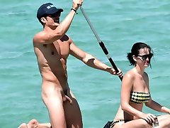 Orlando Bloom Nude Penis in Vacation with Katy Perry