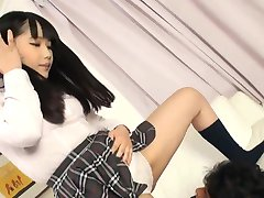 Japanese Schoolgirl Facesits and squirts 2