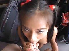 Teeny Asian Schoolgirl