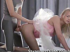 Ballerina strapon gefickt von einem Tanz-Lehrer