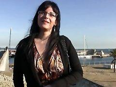 Nieznana hiszpańska dziewczyna uprawia seks za pieniądze