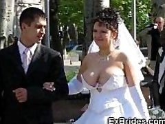 Real Brides Showcase Their Cootchies!