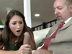 Tätowiert cutie tief pussy massage