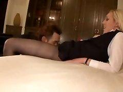 pantyhose stewardess hart gefickt