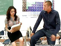 Adrenalynn is a good sex teacher!