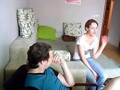 Djevojka ništa i amp;#039;t znati o skrivena kamera
