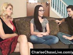 Forró felesége Charlee Chase megszakad a kanos tini bébiszitter