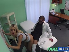 FakeHospital Sales rep caught on camera using pussy to sell hungover doctor pills