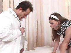 Teen and a Kinky Doctor