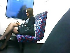 Candid Sexy Crossed Legs 2