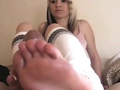 Footjob Cumshots Compilation Part 1