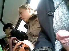 three women on the bus