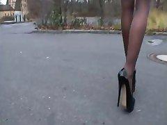 здоровая - немецкое отсутствия высоких каблуках - zigaretten austreten