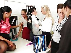 Office Lesbian Party ...