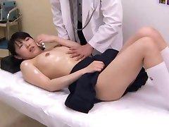 Japanese schoolgirl (18+) medical exam (2)