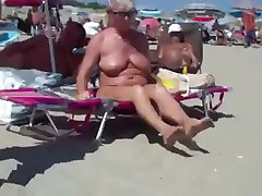 walking on shaved nude beach