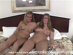 Real Community College Roomates Naked Together in Cedar Rapids Iowa