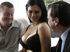 Jasmine Jae bound and fucked