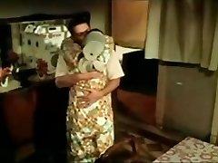 Égyptien femme de ménage