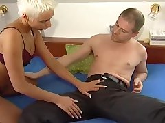 Mature blonde fucks and sucks like crazy - Telsev