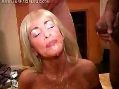 Ginormous British Bukkake Bash - cumshot compilation