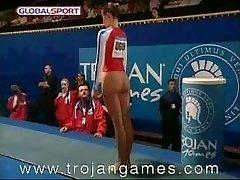 Drôle Sexe Gymnastique Voûte