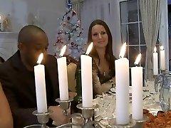 Hardcore Vianočná večera orgie
