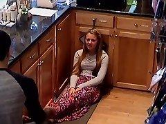 Skryté Cam College Teen Pokladničné Dievčatá Nohy Nohy