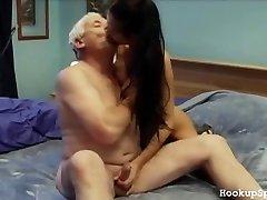 Older Man Bones A Tight Body Female