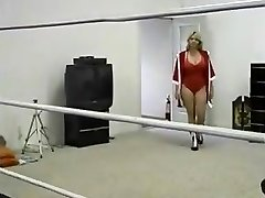 Chubby Cougar Ring Wrestling