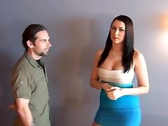 Foot job under table