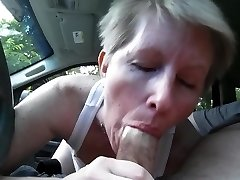 sucking dick in van