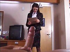 British Slut gets fucked in a hotel room