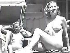 Women at a Swimming Pool