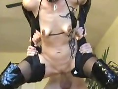 German Anal with Ugly Tits....