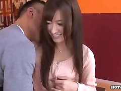 Japanese Girls fucking beautifull wife in bed room.avi