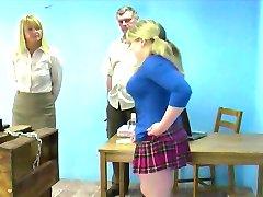 Amy vs. the Spanking Machine
