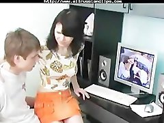 Russian Teens Watch Porn By Bizzy1991 with cumshot