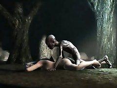 Foxy 3D nena se la follan en el bosque por Gollum